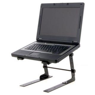 2 Adam Hall Stands SLT 001 - Supporto per Laptop con Morsetto