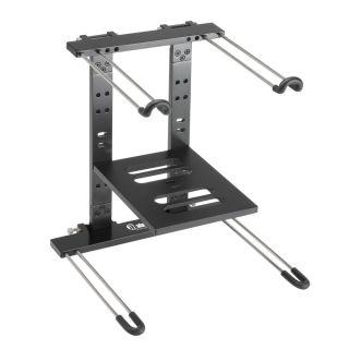 0 Adam Hall Stands SLT 006 B - Supporto per laptop pieghevole con superficie di appoggio nero