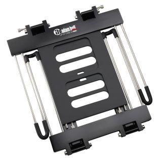 1 Adam Hall Stands SLT 006 B - Supporto per laptop pieghevole con superficie di appoggio nero