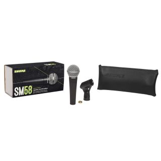 Shure SM58 - Microfono Dinamico Cardioide Professionale per Voce09