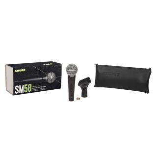 Shure SM58SE - Microfono Dinamico Cardioide per Canto con Interruttore10