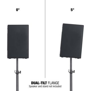 5 Adam Hall Stands SM 7 DT - Flangia dual-tilt (0°/5°)