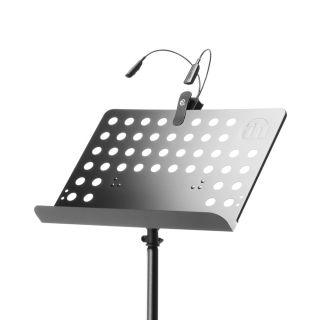 0 Adam Hall Stands SMS 17 SET 1 - Leggio con lampada a LED