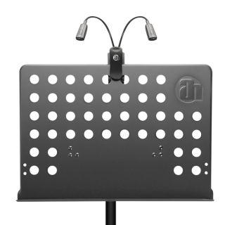 2 Adam Hall Stands SMS 17 SET 1 - Leggio con lampada a LED