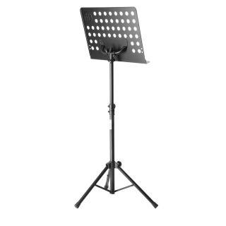 4 Adam Hall Stands SMS 17 SET 1 - Leggio con lampada a LED