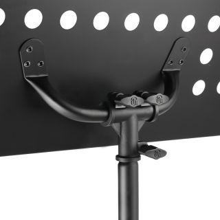 6 Adam Hall Stands SMS 17 SET 1 - Leggio con lampada a LED