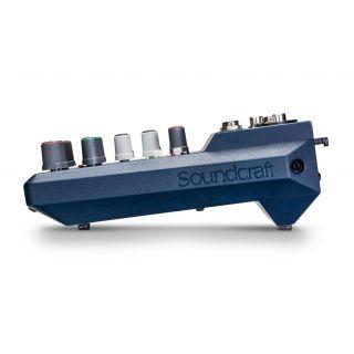 SOUNDCRAFT NOTEPAD 5 - Mixer Analogico 5 Ch_SIDE
