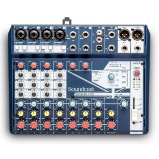Soundcraft NOTEPAD 12FX - Mixer 12 Ch / Effetti B-Stock