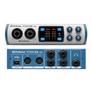 PRESONUS STUDIO 2 | 6 - Interfaccia Audio MIDI / USB 2 in / 6 Out