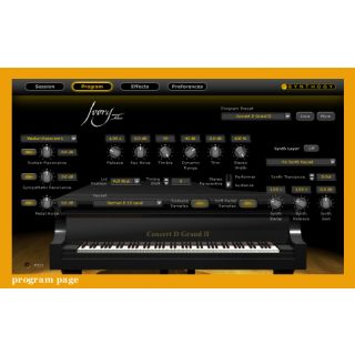 Synthogy Ivory II Grand Pianos software