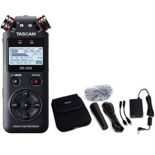 Tascam DR 05X Pack - Registratore Digitale Palmare con Accessori