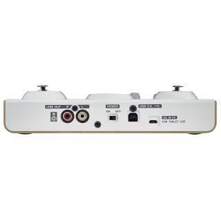 tascam us42 rear