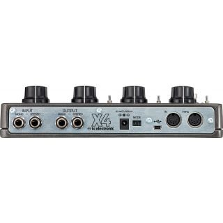 Tc electronic ditto x4 looper rear
