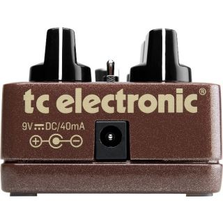 Tc electronic MojoMojo overdrive rear