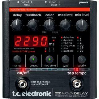 Tc Electronic nd1 nova delay front