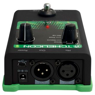 tc helicon Voicetone d1 rear