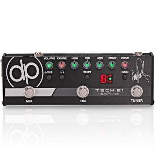 Tech 21 DP-3X - Preamp a Pedale per Basso dUg Pinnick Signature