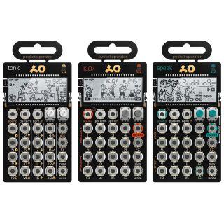 Teenage Engineering Set PO-32 Tonic / PO-33 KO! / PO-35 Speak