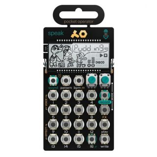 Teenage Engineering PO-35 Speak - Synth Tascabile