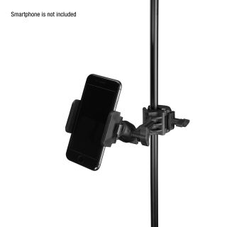 9 Adam Hall Stands THMS 1 - Supporto per tablet universale con accoppiatore multifunzione