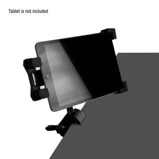 12 Adam Hall Stands THMS 1 - Supporto per tablet universale con accoppiatore multifunzione