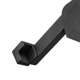 5 Adam Hall Stands THMS 1 - Supporto per tablet universale con accoppiatore multifunzione