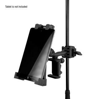 6 Adam Hall Stands THMS 1 - Supporto per tablet universale con accoppiatore multifunzione