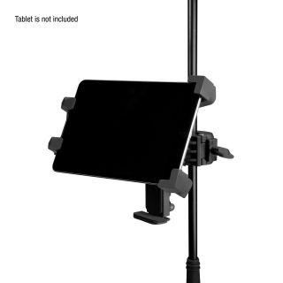 8 Adam Hall Stands THMS 1 - Supporto per tablet universale con accoppiatore multifunzione