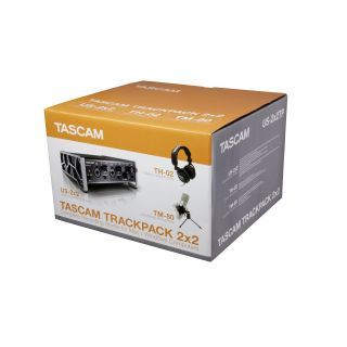 TASCAM Trackpack 2x2 kit 4