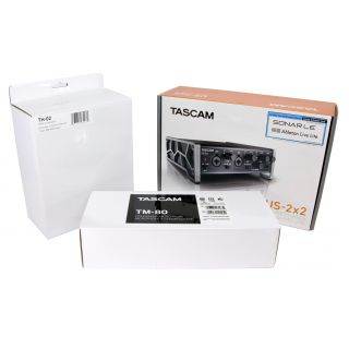 TASCAM Trackpack 2x2 kit 2