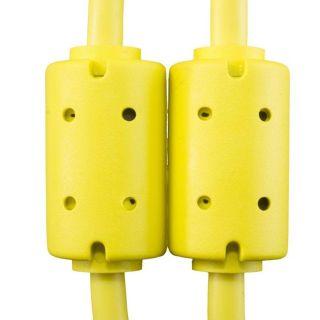 Udg U95003YL - ULTIMATE CAVO USB 2.0 A-B YELLOW STRAIGHT 3M Cavo usb