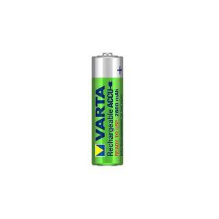 2 Varta Batterie Ricaricabili Accu 5716 AA Mignon 2600 mAh