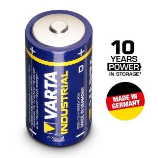 0 VARTA Batterien Industrial 4020 - Batteria Mono D 1,5 V