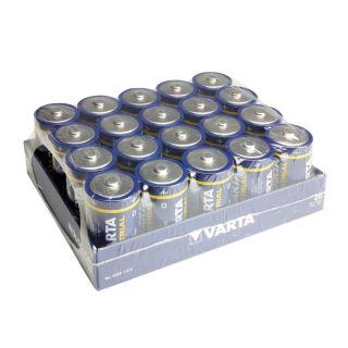 1 VARTA Batterien Industrial 4020 - Batteria Mono D 1,5 V