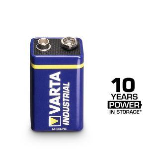0 VARTA Batterien Industrial 4022 - Batteria 9 V