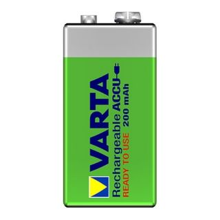 1 VARTA Batterien Rechargeable Accu 56722 - Rechargeable Battery - 9V Block - 200 mAh