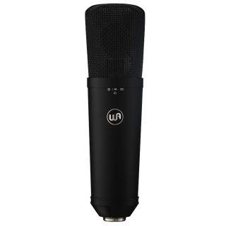 Warm Audio WA-87 R2 Revision 2 Black - Microfono da Studio a Condensatore a Diaframma Largo