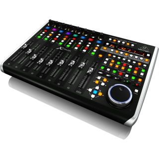 BEHRINGER X-Touch vista laterale