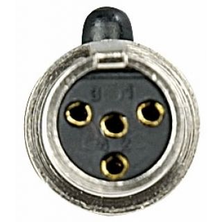 2 DAP-Audio - N-CON Mini XLR 4p. Plug Female - Femmina