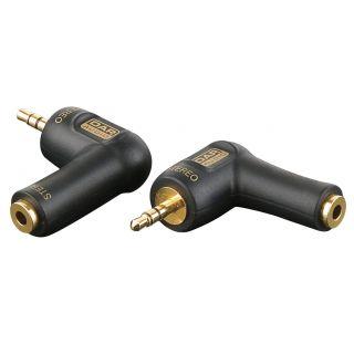 0 DAP-Audio - XGA08 - Mini Jack/M stereo > Mini Jack/F, 90° - Adapters
