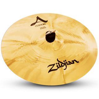 """Zildjian A20514 Piatto Crash A Custom 16"""" per Batteria Acustica"""