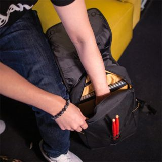 Zildjian T9001 - Zaino Nero Grigio Impermeabile per Laptop con Smart Sleeve05