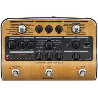 Zoom AC-3 - Pedale Stereo per Acustica