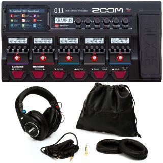 Zoom G11 Bundle Shure SRH840