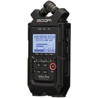 Zoom H4n Pro Black - Registratore Audio Digitale Multitraccia02