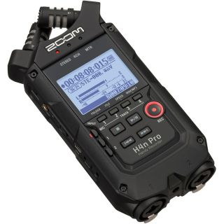 Zoom H4n Pro Black - Registratore Audio Digitale Multitraccia06