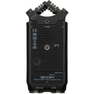 Zoom H4n Pro Black - Registratore Audio Digitale Multitraccia05