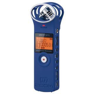 Zoom H1 Blu