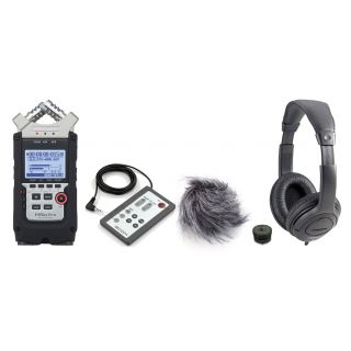 ZOOM H4n PRO Recording Pack per Fotocamere Professionali