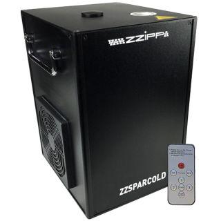 ZZIPP 4 x ZZSPARCOLD Effetto Non Pirotecnico con Flight Case02
